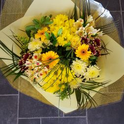 Hand tied bouquets from £30