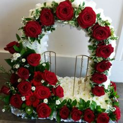 Gates of heaven with rose arch from £110