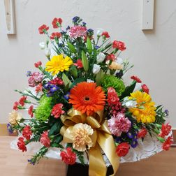 Box bouquets from £25. Colour of your choice