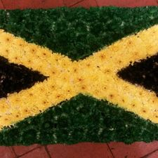 jamaica flag flowers